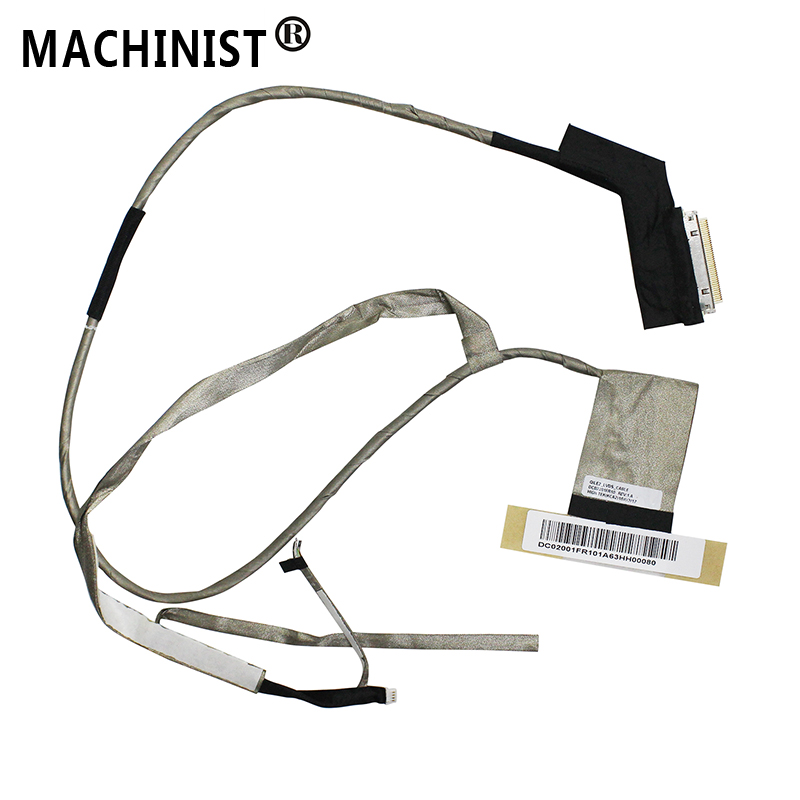 MACHINIST Video Screen Flex For Lenovo ThinkPad E530 E530C E535 Laptop LCD LED LVDS Display Ribbon Cable DC02001FR10