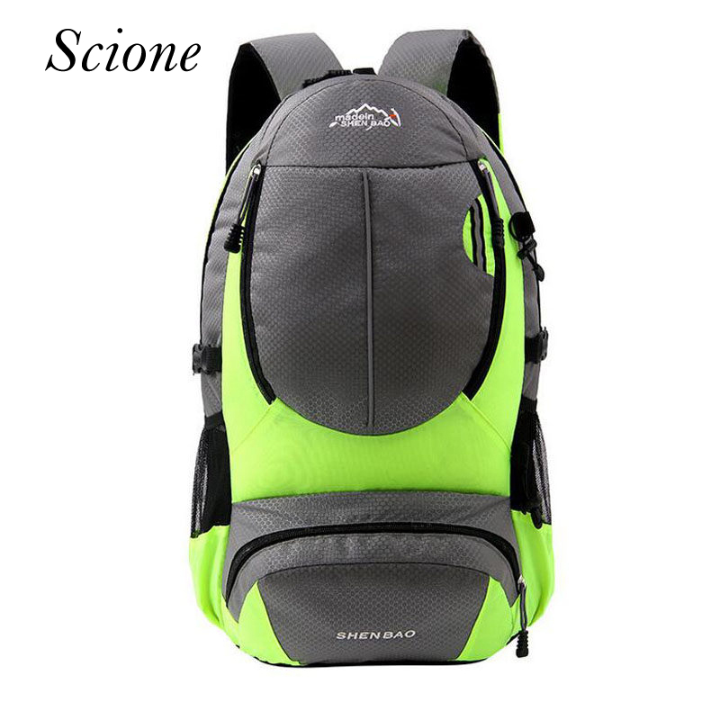 2018 Fashion Brand Designer Men Waterproof Bag Nylon Durable Backpack Unisex School Bags for Teenage Travel Laptop Bagpack Li462
