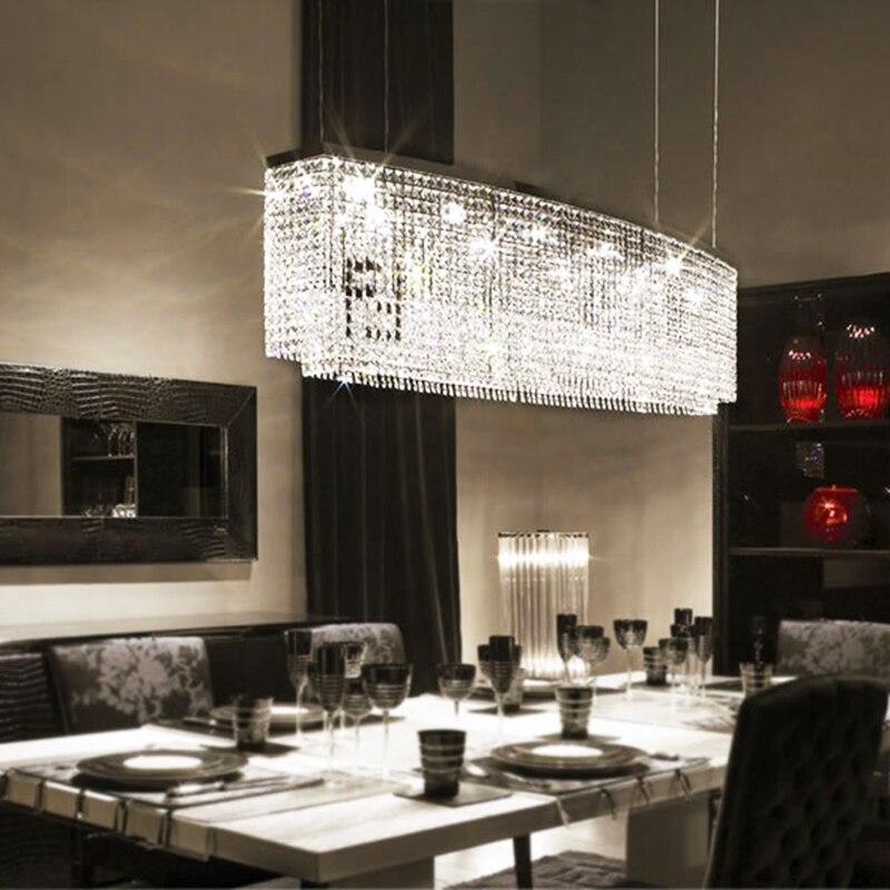 Us 438 0 Luxus Lampe Moderne Kristall Kronleuchter Licht Luster Dekorative Esszimmer Leuchten Bar Led Beleuchtung In Kronleuchter Aus Licht