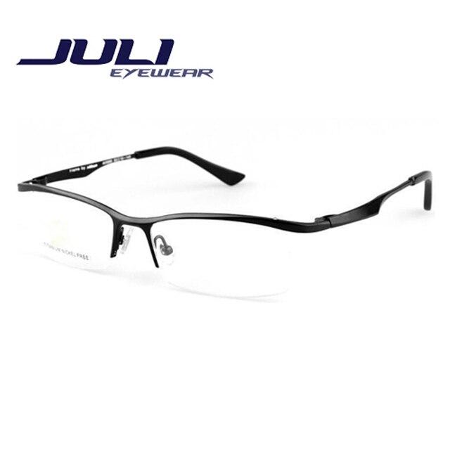 Gafas de lectura gafas de grau femininos titanium marcos de las lentes gafas gafas de equipo marco moda gafas hombres 9880c