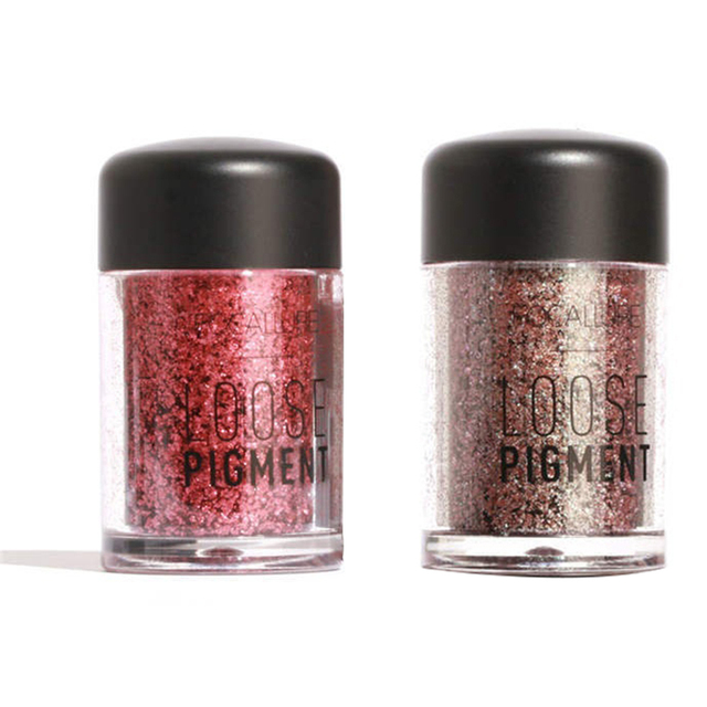 Glitter Loose Powder Makeup Brighten Pigment Metallic Shimmer Eye Cosmetic