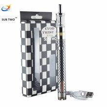 Electronic cigarette twist 3 evaporator mods Dual Coil airflow control m16 atomizer Vaporizer ego hookah pen