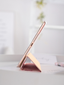 Image 4 - Pink Flower Flip Cover For iPad Pro 9.7 11 air 10.5 12.9 2020 Air2 Mini 1 2 3 4 5 2019 Tablet Case for New iPad 9.7 2017 2018