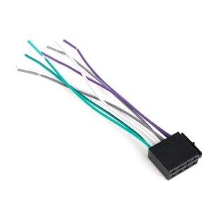 Image 2 - אוניברסלי נקבה ISO לרתום חיווט רכב רדיו מתאם מחבר חוט תקע ערכת
