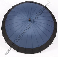 Free shipping,combination fabric,24 ribs wooden umbrellas,14mm wooden shaft and fluted metal long ribs,hand open,