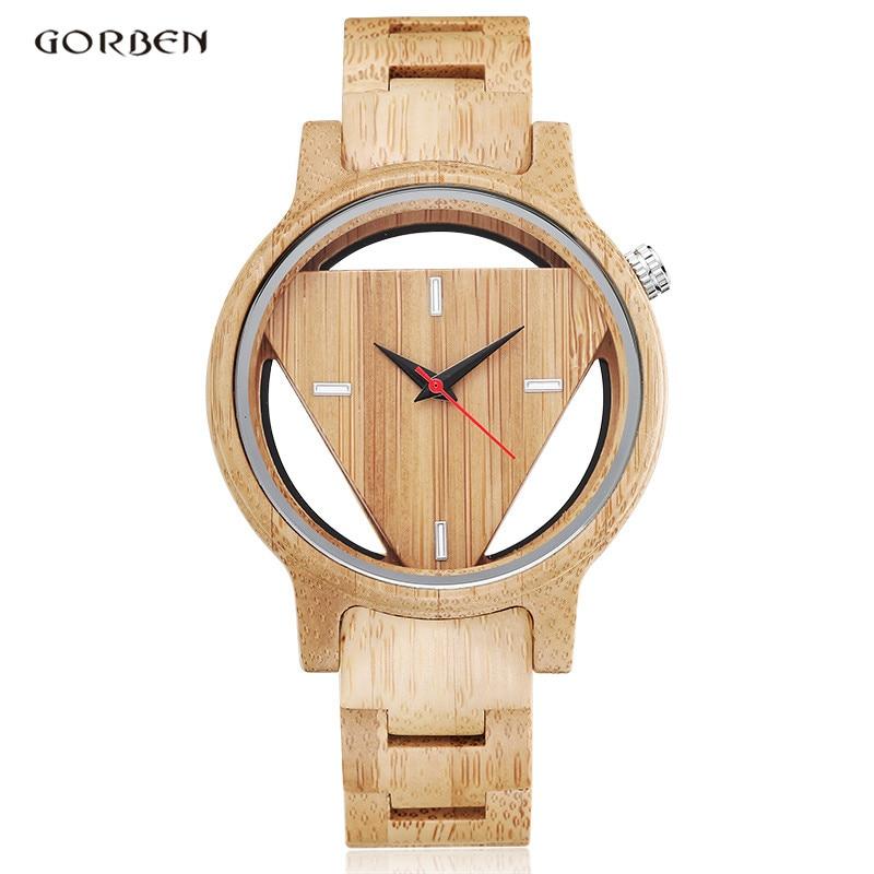Zebra Wooden Watch Men Full Wooden Hollow Design