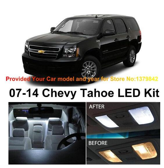 XENON WHITE QASHQAI INTERIOR CAR LED LIGHTS BULB KIT