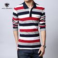 Polo shirt men Letter Embroidered Strip Polo Shirt 2016 Summer brand Turn-down Collar Casual Cotton Polo Shirt  Plus Size M-5XL
