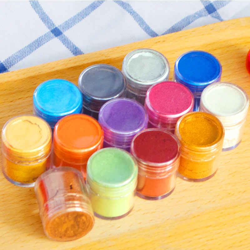 Fondant Pigment Color Food Coloring optional Colorful Powder Macaron  Natural Food Color Snack Chocolate Cake Tools free shipping