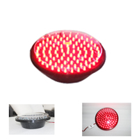 Traffic Signal Light Module 200mm Diameter 8 Inch Red Stop Sign Road Safety Light DC 12 V Cheap LED Cluster