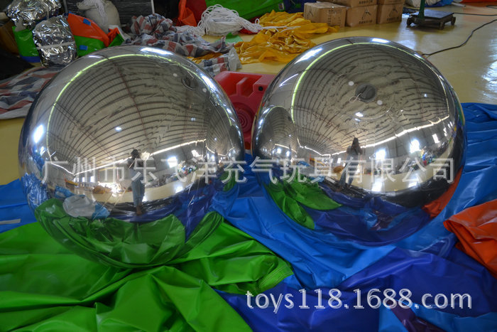 Patent Inflatable Marketing Products Mirror Balloons For Decoration