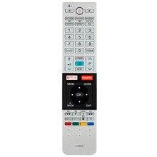 Mando a distancia para Toshiba CT 8536, mando a distancia con función de voz, Netflix, Google Play
