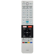 New Remote Control for Toshiba CT 8536 LCD TV with Voice Netflix GooglePlay Function Controller
