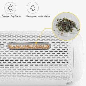Image 5 - Youpin Deerma Recycelbar Mini Luftentfeuchter Reduzieren Luft Feuchtigkeit Trocken/Nass Visuelle Fenster Löcher Design Feuchtigkeit Absorption Trocknen H20