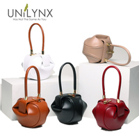 UNILYNX Leather hobos Bag Handbags Fashion Evening bag Tote Female Bags Ladies retro leisure bags Vintage Solid five colors