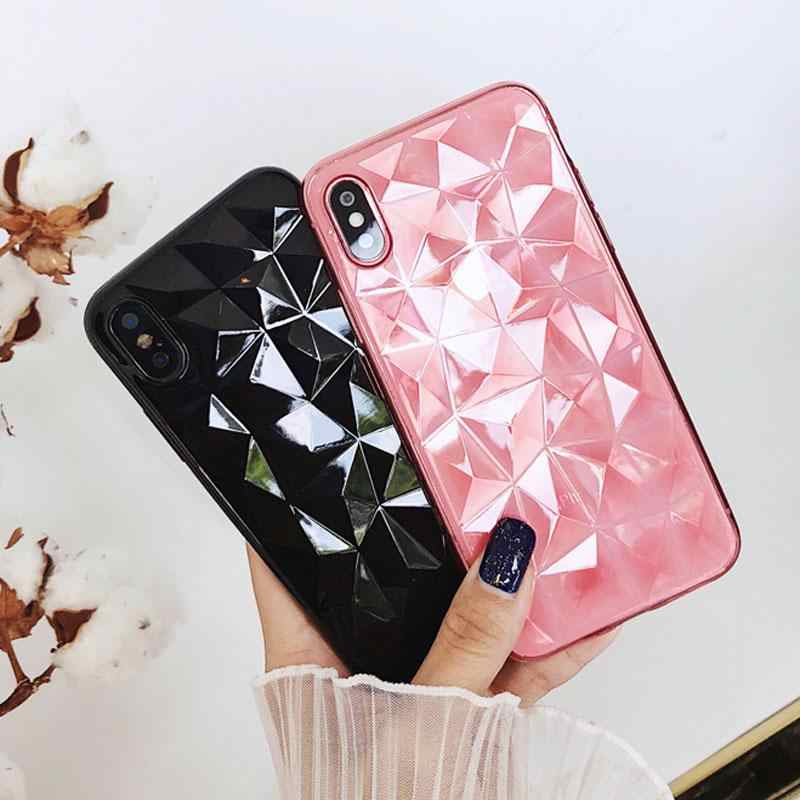 Diamond Silicone Case for Xiaomi Redmi GO SE 7 6 6A 5 Plus Note 4 4X 5A 6 7 Pro F1 Mi A1 A2 8 9 SE Lite Soft TPU Clear Cover