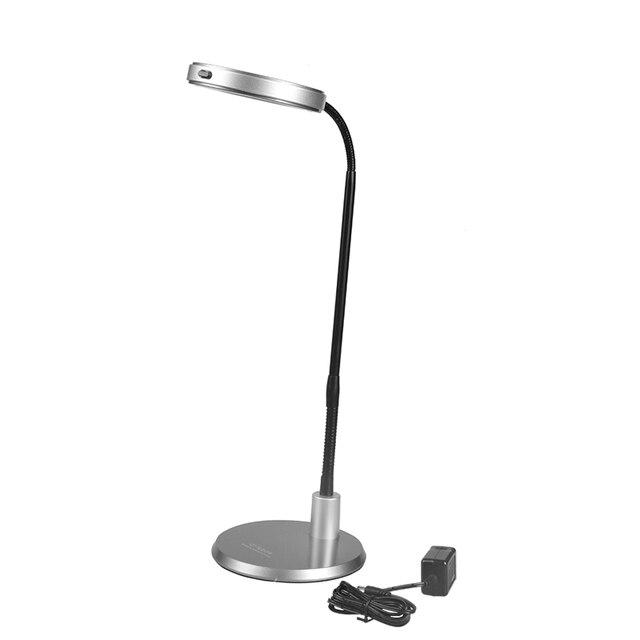 DIY украшения дома 2.5 Вт 5000 К цветовая температура металла 220 В-50 Гц напряжение 1LED лампа бисер стол лампа Настольная Лампа освещения