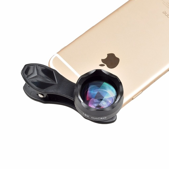 APEXEL Universal Clip on HD 18X Macro Lens Photography Mobile Phone Lens micro lentes For iPhone Lens mobile phone 1