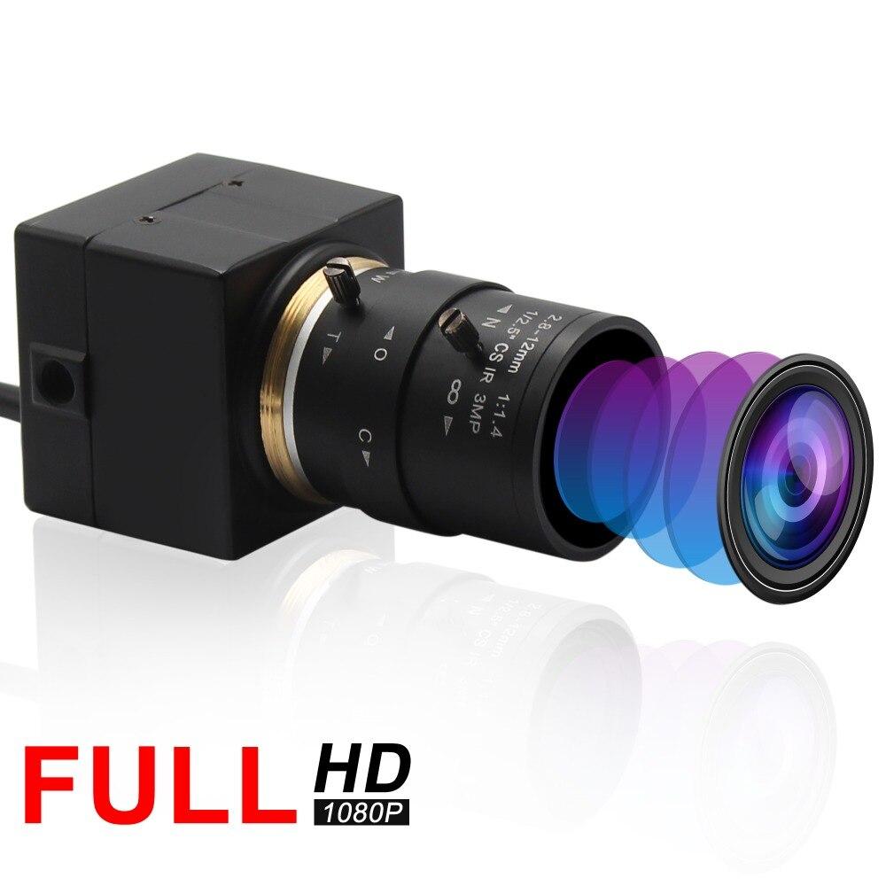 1080P H 264 Low Light USB Camera Industrial Varifocal Mini USB Webcam Camera Android Linux Windows