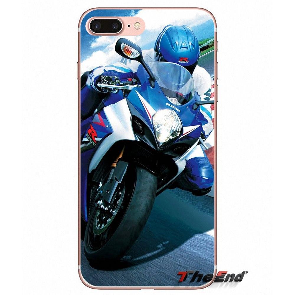 Suzuki Hayabusa Sport Bike motorcycle Case For Samsung Galaxy S3 S4 S5 MINI  S6 S7 edge S8 Plus Note 2 3 4 5 Grand Core Prime