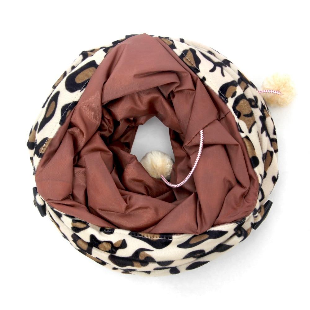 Novi tunel za kućne ljubimce Bulk Cat Toys Cat Tunel Leopard Print - Kućni ljubimci - Foto 5