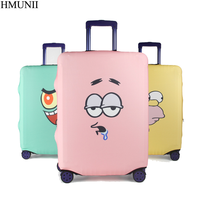 HMUNII Cute Elastic Thick Luggage Cover for Trunk Case Apply 18-32inch Suitcase Suitcase Protective Cover Travel Accessor A1-06
