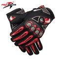 Pro-motorista guantes de moto moto de carreras de motos de motocross motor equitación ciclismo de bicicletas glvoes negro rojo azul naranja mcs-23