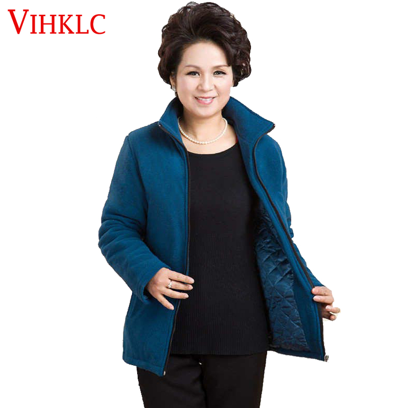 Plus Size Polar Fleece Jacket - Best Jacket 2017