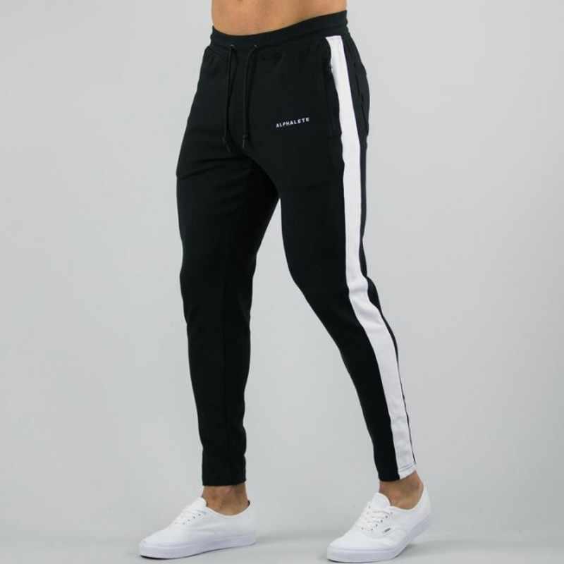 Alphalete mens joggers 캐주얼 바지 피트니스 남성 운동복 tracksuit bottoms 스키니 트레이닝 복 바지 gyms jogger track pants