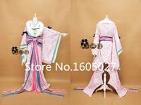 Anime Love Live! Minami Kotori Action Figure New Year SR Uniform Party Full Dress Kimono Cosplay Costume Any SIze Free Shipping