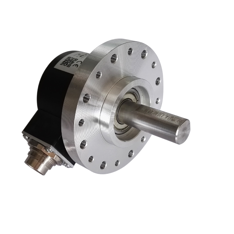 1000PPR HTL incremental rotary encoder optic photoelectric sensor with big mounting wheel replace Valco VDD 1000