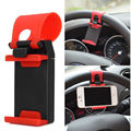 Universal Car Steering Wheel Clip Mount Holder Cradle Stand For iPhone 6 6S 5 5S 5C 4S Samsung Galaxy S4 S3 S2 #FXP