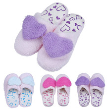 Wo weino Excellent Quality Retail Lovely Soft Lovers Home Floor Soft Cotton-padded Slippers Shoes Hot Sale Fast Shipping
