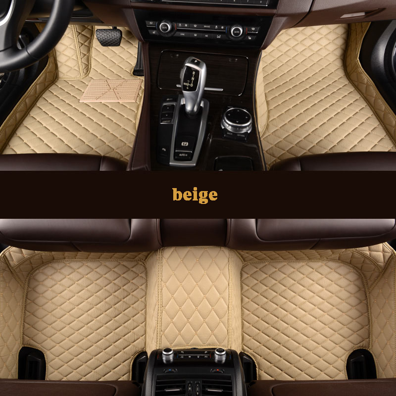 kalaisike Custom car floor mat for CHANA all models CS35 Alsvin Benni CX20 CX30 CS75 CS15