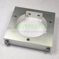 SWMAEK Openbuilds OX CNC machine parts Shapeoko or other router DW660 Spindle Mount aluminum alloy top quality