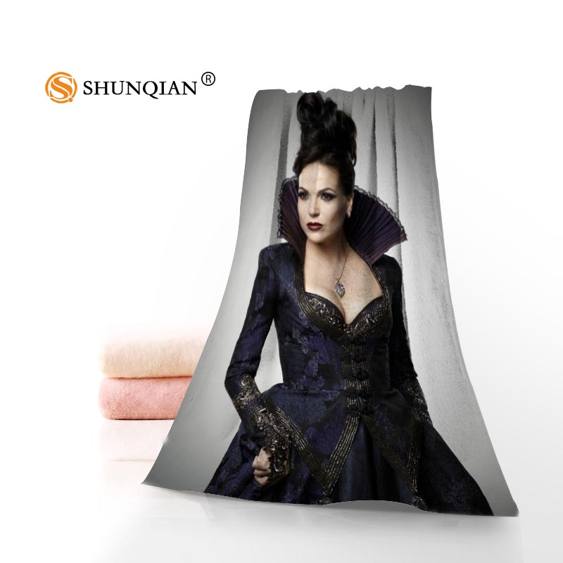 Microfiber Towels Custom once upon a time Face Towel/Bath Towel Size 35x75cm, 70x140cm for family travel