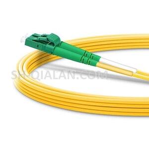 Image 2 - LC APC lc APC 光ファイバパッチコードデュプレックス 2.0 ミリメートルの pvc 光シングルモード FTTH 繊維パッチケーブル LC コネクタ