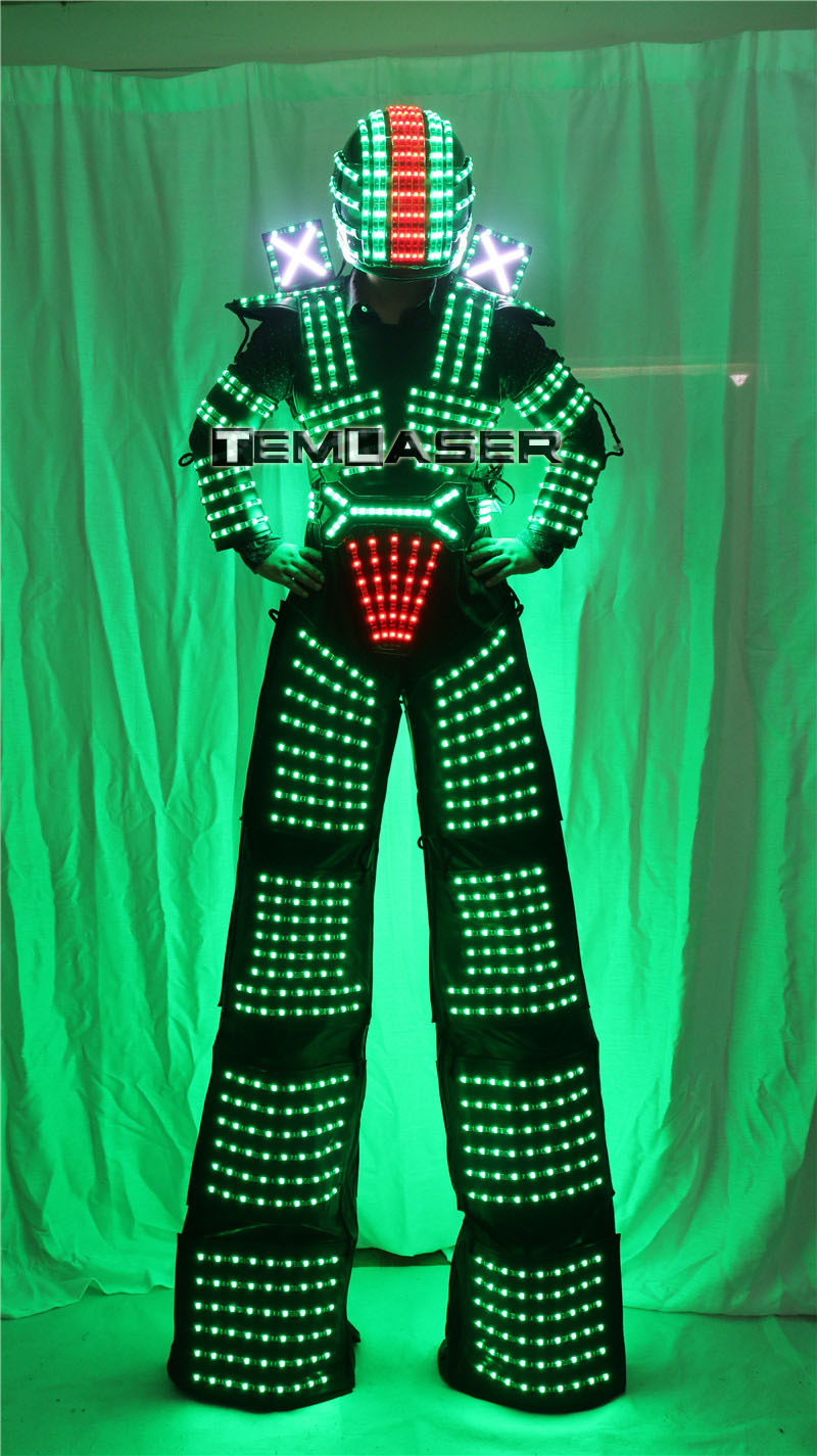 LED robot kostyumu David Guetta LED robot kostyumu - Şənlik aksesuarları - Fotoqrafiya 4