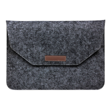Style Gentle Sleeve Bag Case For 13 inch Laptop computer Anti-scratch Cowl – Darkish Grey