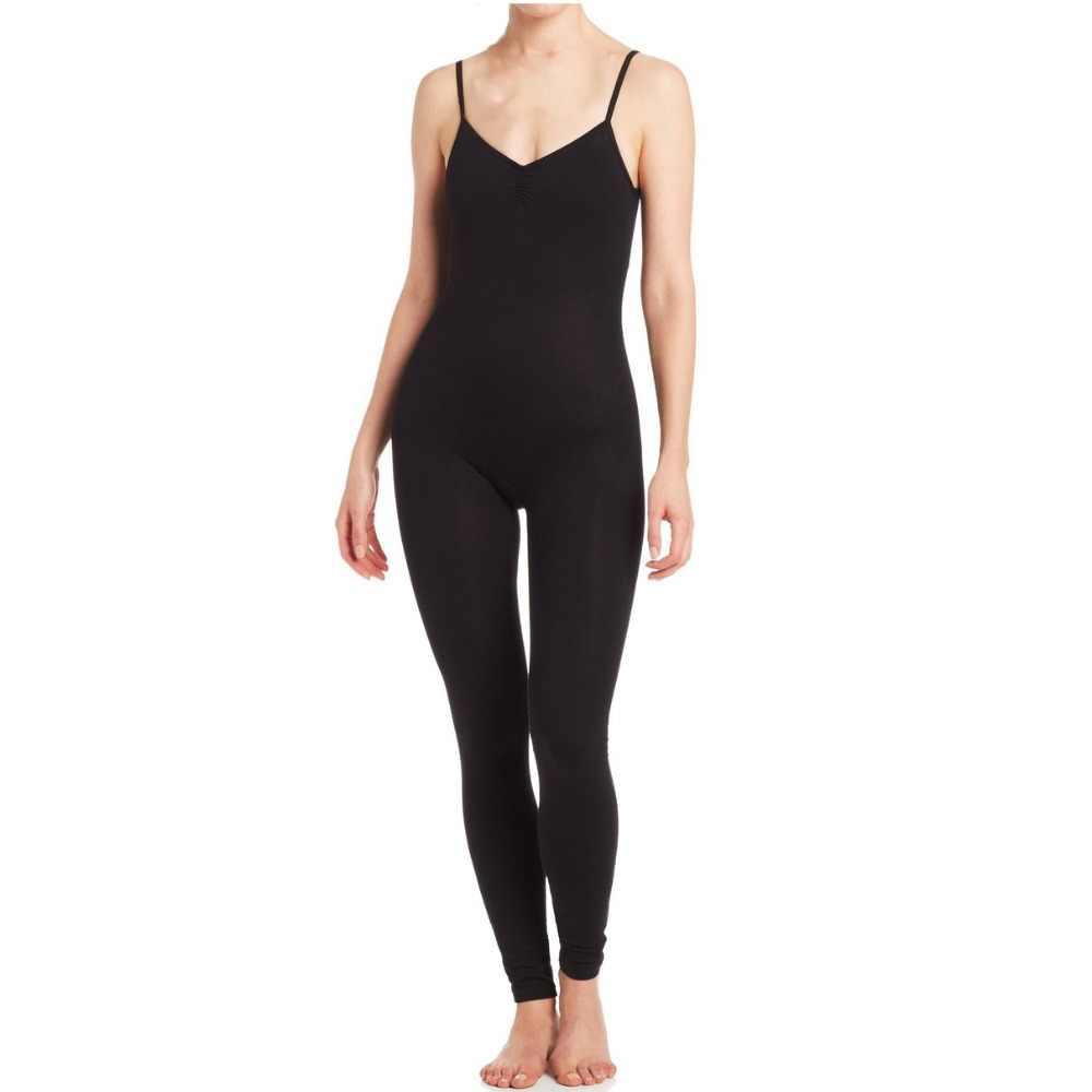 Speerise mujer LICRA danza camisola Pinch frontal Unitard Dancewear Catsuit una pieza de longitud completa Bodysuit envío gratis