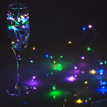 HOT 2M 10M Copper Wire LED String light Waterproof Holiday S