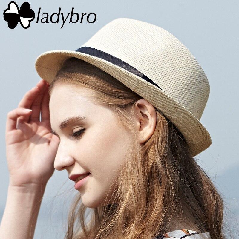 Ladybro 3pcs Sommar Kvinnor Hatt För Män Hat Lady Strand Keps Sol - Kläder tillbehör - Foto 2