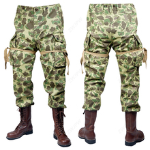 Военная Униформа Второй мировой войны США М42, 101, ВВС, десантники, военные костюмы, тихоокеанские утки, камуфляжные штаны US111021