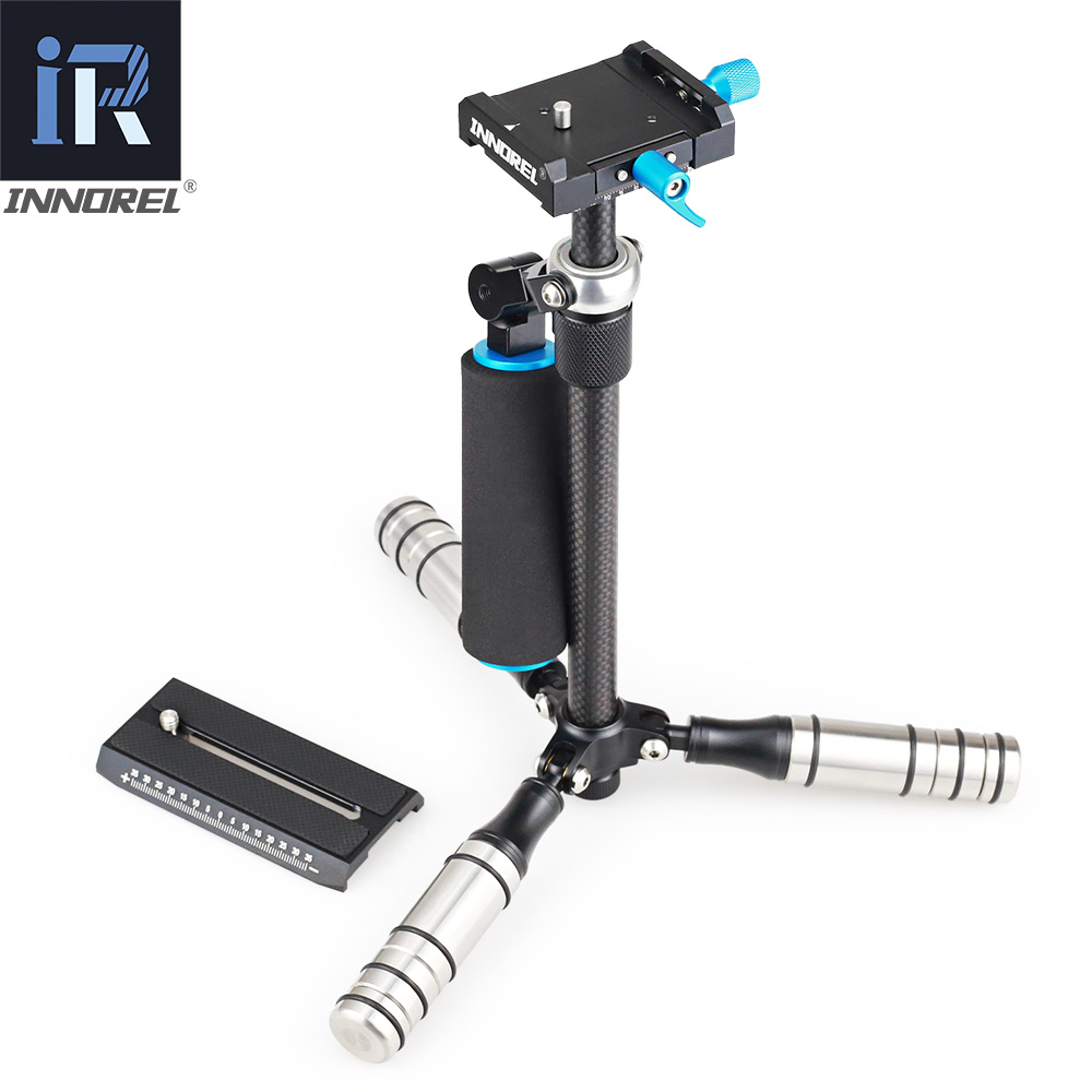 Image 3 - SP mini Handheld Stabilizer Lightweight Carbon Fiber steadicam for DSLR Video Camera DV Light Steady cam high build quality-in Photo Studio Accessories from Consumer Electronics