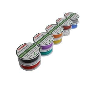 Image 5 - Гибкий силиконовый провод, 30 м, 20 AWG, Радиоуправляемый кабель, внешняя линия с катушкой в упаковке 1 или в упаковке 2, электрический провод из луженой меди
