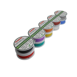 Image 5 - 30m 20 AWG Flexible Silicone Wire RC Cable Line 5 Colors With Spool Package 1 or Package 2 Tinned Copper Wire Electrical Wire