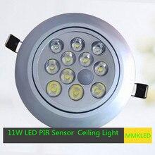 8 Вт / 11 Вт из светодиодов ик-датчика встраиваемые потолочный светильник устройство-автоматическая AC 85 — 265 В