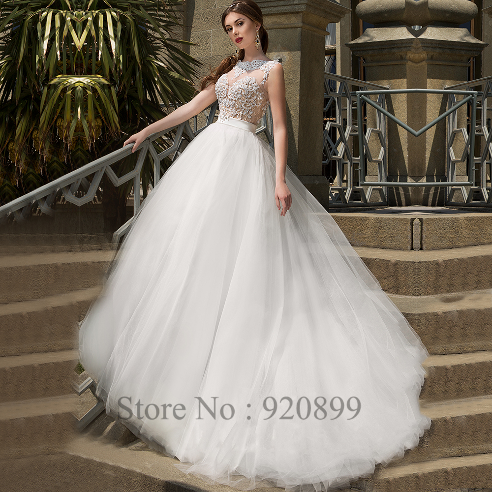 aliexpresscom buy country greek style wedding dress princess lace bridal gowns 2016 spring appliques tulle illusion back vestido de casamento from