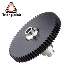 Image 2 - Trianglelab Titan Extruder Stainless steel Precision milled hobb high quality Titan Extruder new metal gear Hobb EXtruder Gear