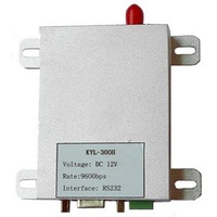 5W 10km Wireless Radio Modem 400Mhz 433MHz 470MHz Transceiver RS485 RS232 Cabe Replacement Wireless Communication